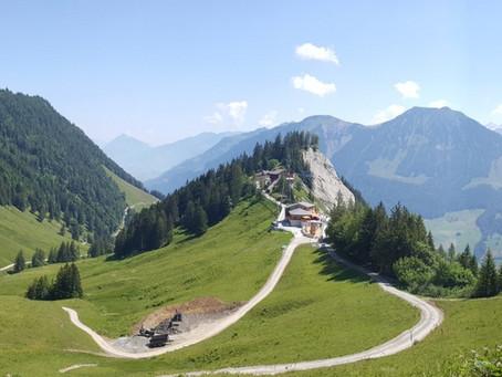 První společné švýcarské hory
