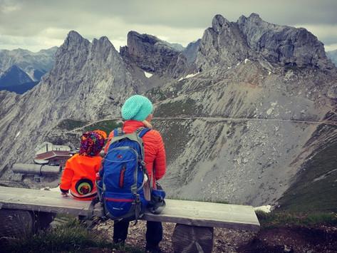 Pasamani Rundweg v Karwendelspitze