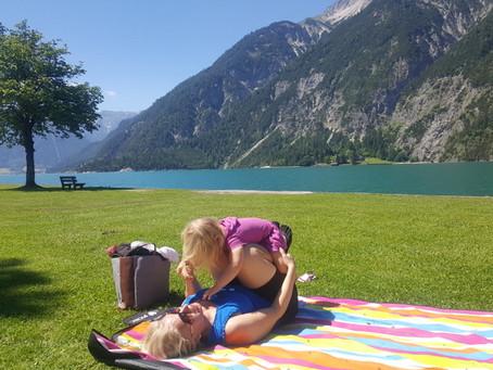 Poslední den v Achensee a přesun k Walchensee