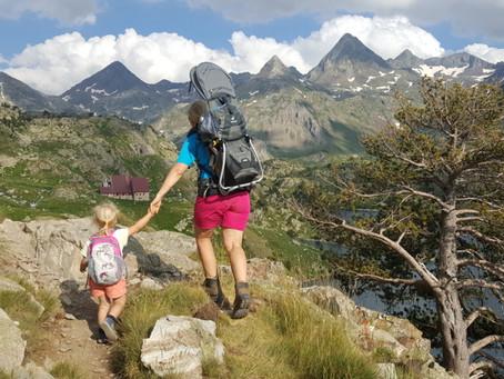 Viktorčin druhý dvoudenní trek do 2200 m n.m.