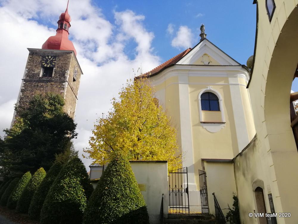 Gotická věž z roku 1497 v Přibyslavi původně patřila k obranému systému města.