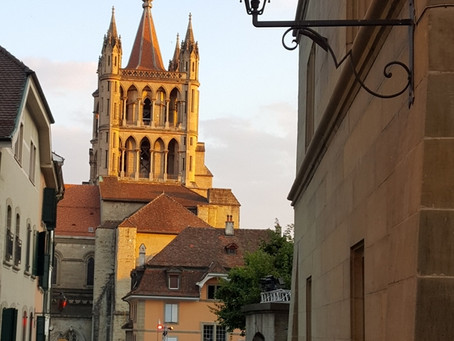 Přesun z Bernu do Lausanne