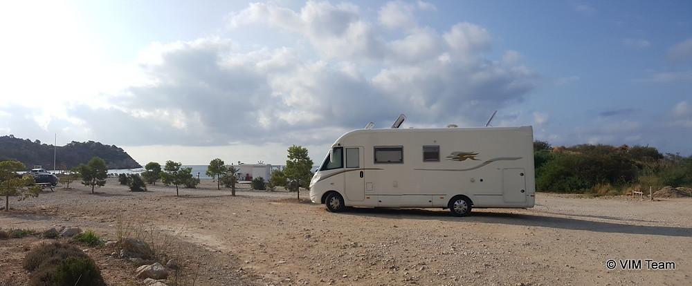 Parkování u Mascarat Beach