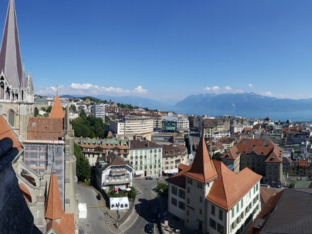 Neuvěřitelná katedrála v Lausanne