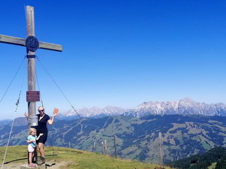 Dvoudenní trek nad Zell am See