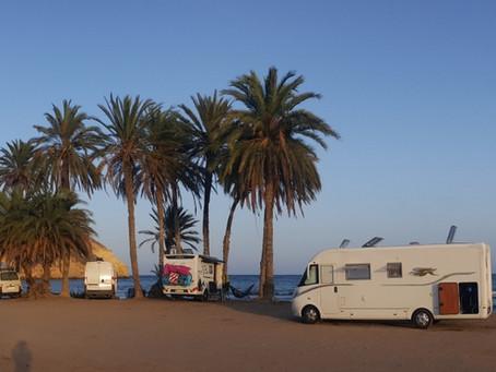 Playa de las Palmeras na Costa Almería