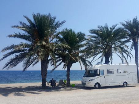Almerimar a pláže u Roquetas de Mar