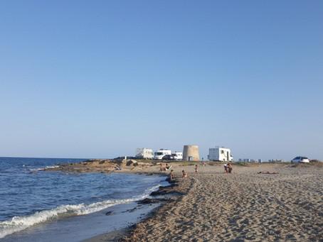 Pláže u Mar Menor na Costa Cálida