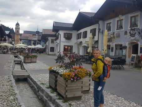 Přesun od Walchensee do Mittenwaldu