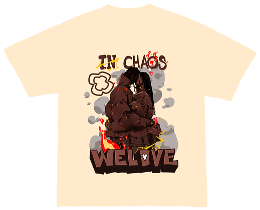 In chaos we love tee
