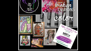 We're coloring on Saturday. Please come out and join us.