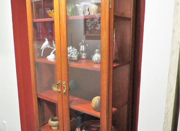 Display Cabinet with 4 shelves