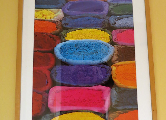 """Colourful """"Dye"""" Picture"""