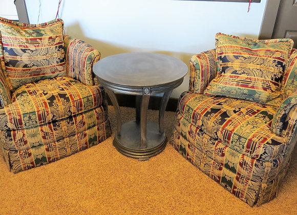 """Barrel"" Swivel Chairs (pr)"