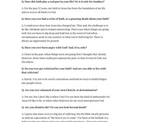 Belast Telegraph Interview