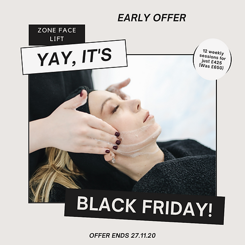Black Friday - Zone Face Lift (course of 6 treatments)