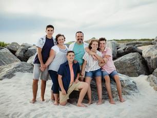 Family Beach Session - Jetty Park Beach - Cape Canaveral, FL