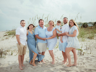 Extended Family Beach Session - Cocoa Beach, Florida