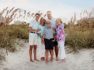 Family Beach Session - Twin Towers - Cocoa Beach, Florida