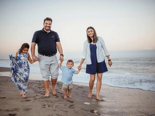 Space Coast Family Beach Session – Cape Canaveral, Florida
