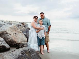 Family Beach Session - Jetty Park Beach - Cape Canaveral, Florida