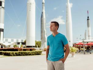 Senior Session - Kennedy Space Center Visitor Complex -Merritt Island, Florida
