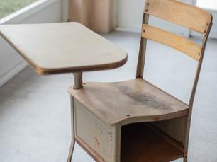 Old School Desk Photo Prop Makeover - Cocoa, Florida