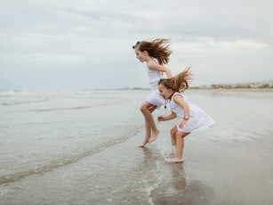 Extended Family Beach Session - Jetty Park Beach - Cape Canaveral, Florida