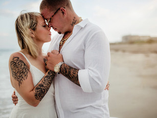 Couples Beach Session - Hampton Inn - Cocoa Beach, Florida