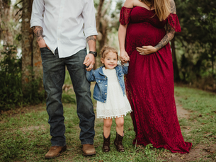 Maternity Session - Chain of Lakes Park - Titusville, Florida