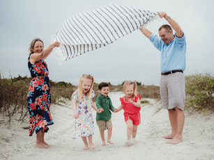 Extended Family Beach Session – Jetty Park Beach – Cape Canaveral, Florida