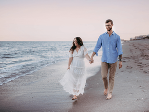 Elopement Beach Session – Satellite Beach, Florida