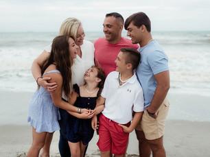 Family Beach Session - Robert P. Murkshe Memorial Park - Cocoa Beach, Florida