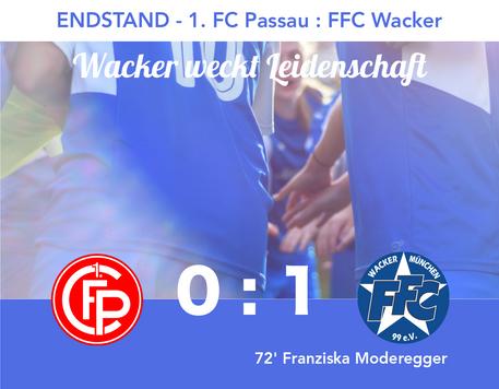 U17: Sieg in Passau