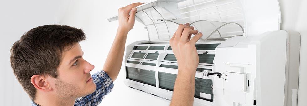 Split system air conditioner and heat pump maintenance