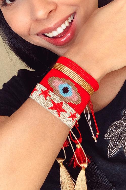 Set ojo rojo (4 piezas)