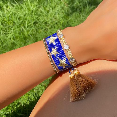 Set estrella azul