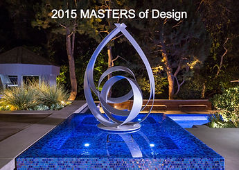 2015 masters of design winner fluid dynamics pool & spa inc