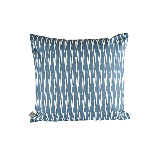 Stems Cushion - Cornflower