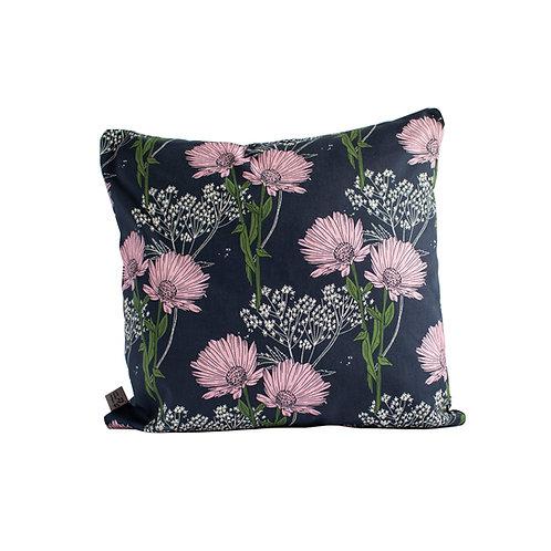 Calendula Cushion - Blackcurrant