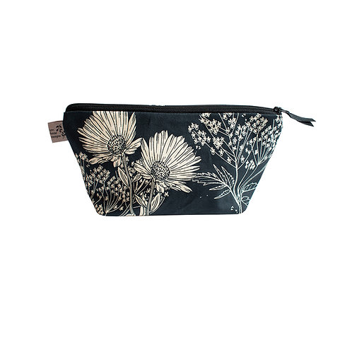 Calendula Cosmetic Bag - Blueberry