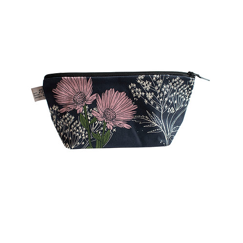Calendula Cosmetic Bag - Blackcurrant