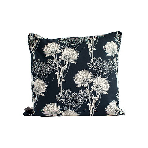 Calendula Cushion - Blueberry