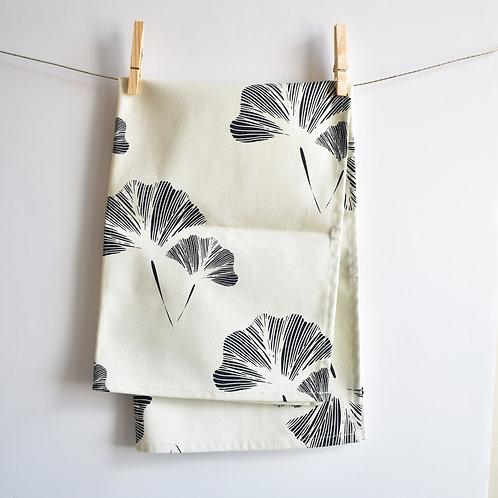 Ginkgo Leaf Tea Towel