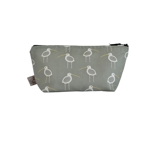 Curlews Cosmetic Bag - Olive