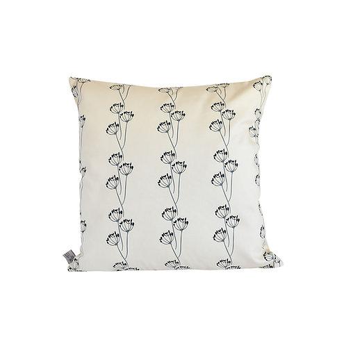 Meadow Garden Cushion - Almond/Blueberry