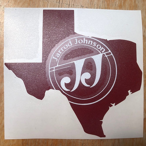 5in x 5in Decal