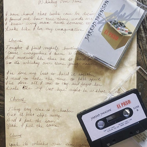 Limited Edition El Paso Cassette and Lyric Sheet