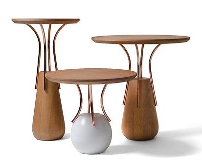 Trio de mesas de apoio Ref. RTJMS0203