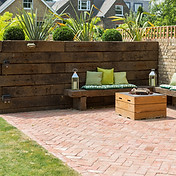 Vala Designs Garden fire pit